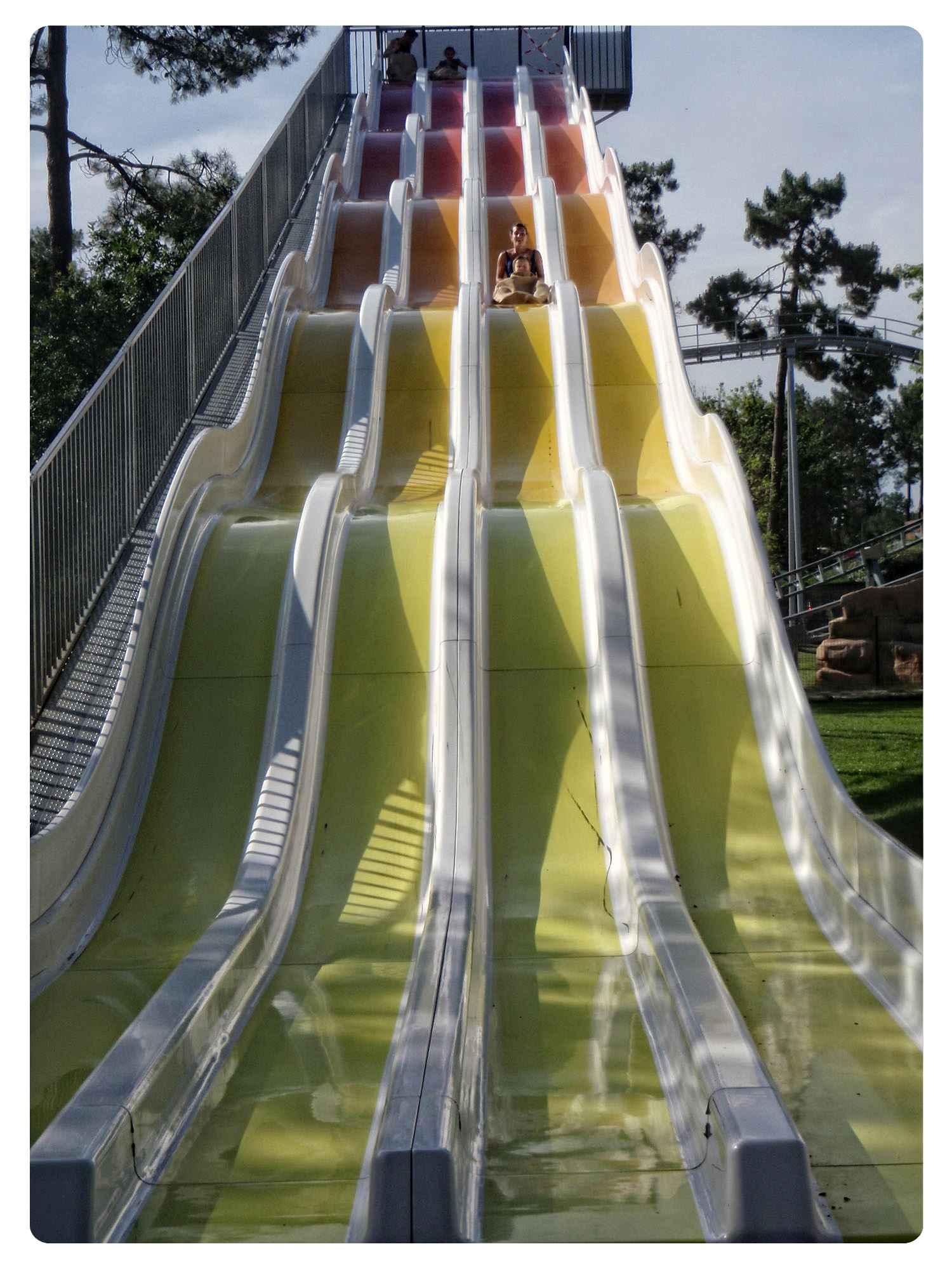 La Coccinelle, parc attractions Gujan