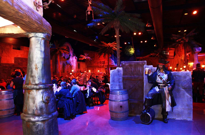 Restaurant Escale des Pirates, idéal en famille