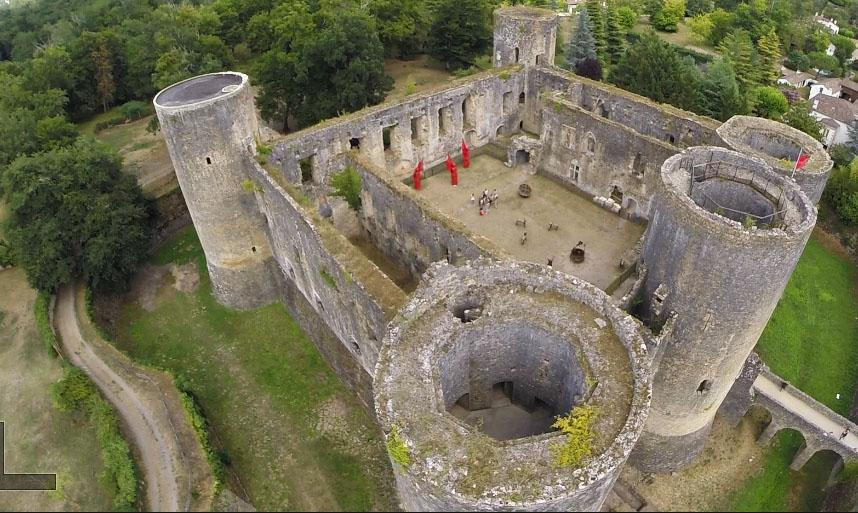 Terr'hist ou art, château de Villandraut