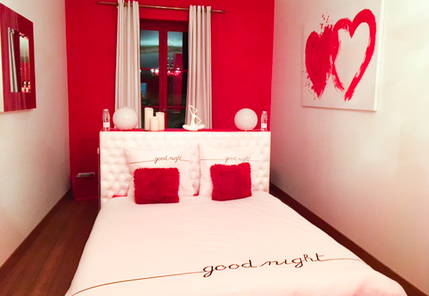 Awesome Chambre Blanc Et Rouge Images - Antoniogarcia.info ...