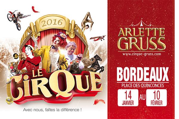 Jeu concours cirque Arlette Gruss