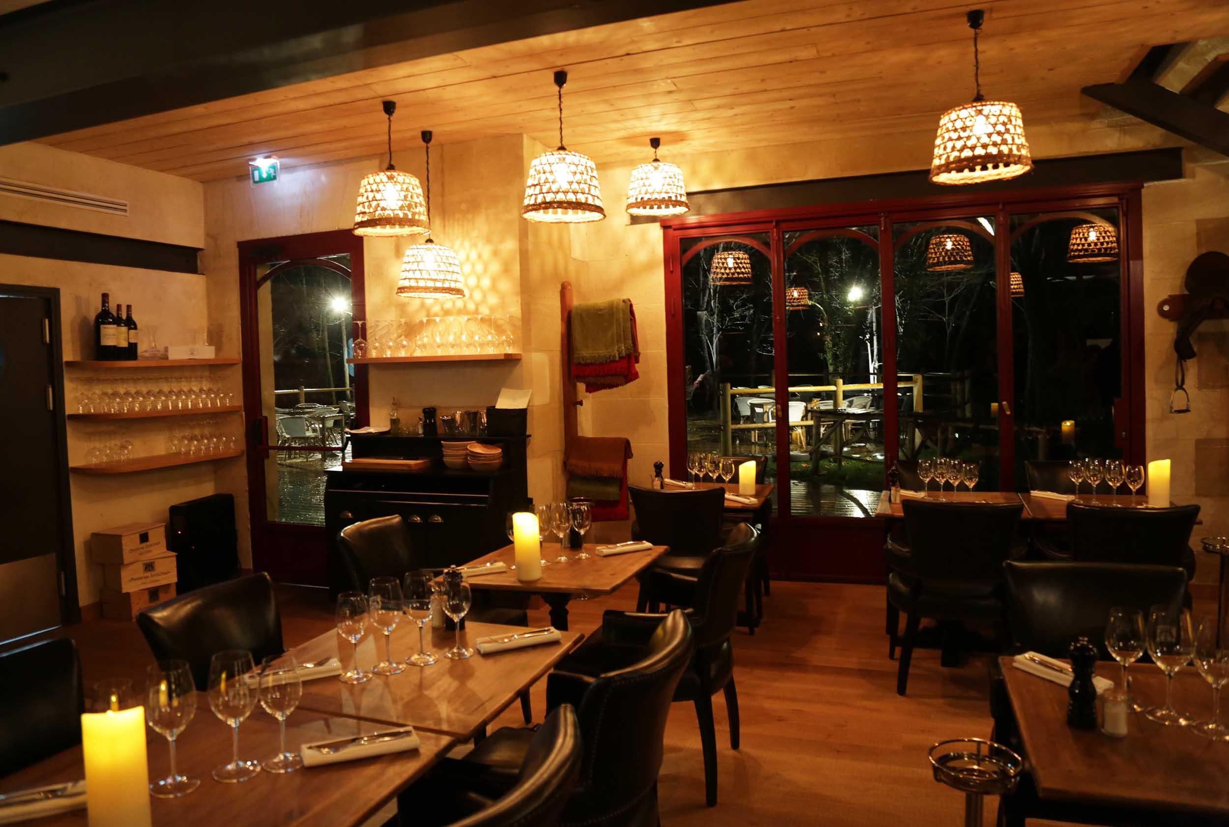 Le restaurant le Manège, Léognan