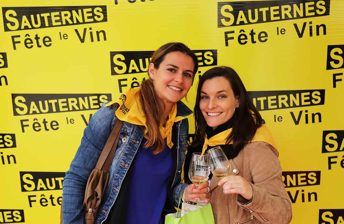 Sauternes fête le vin