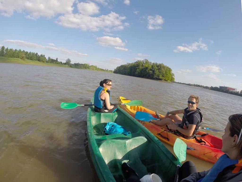 Bordeaux-canoe