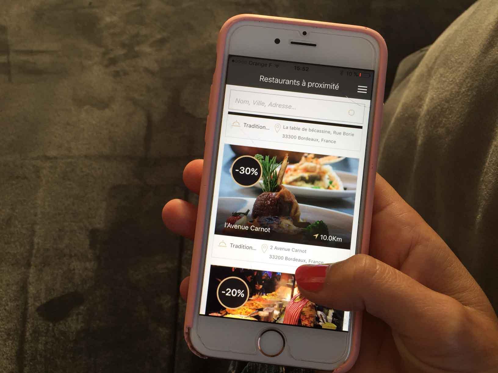 L'application Lastable, les restaurants moins chers